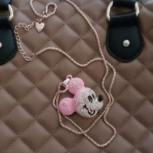 Minnie Mouse BETSEY JOHNSON necklace